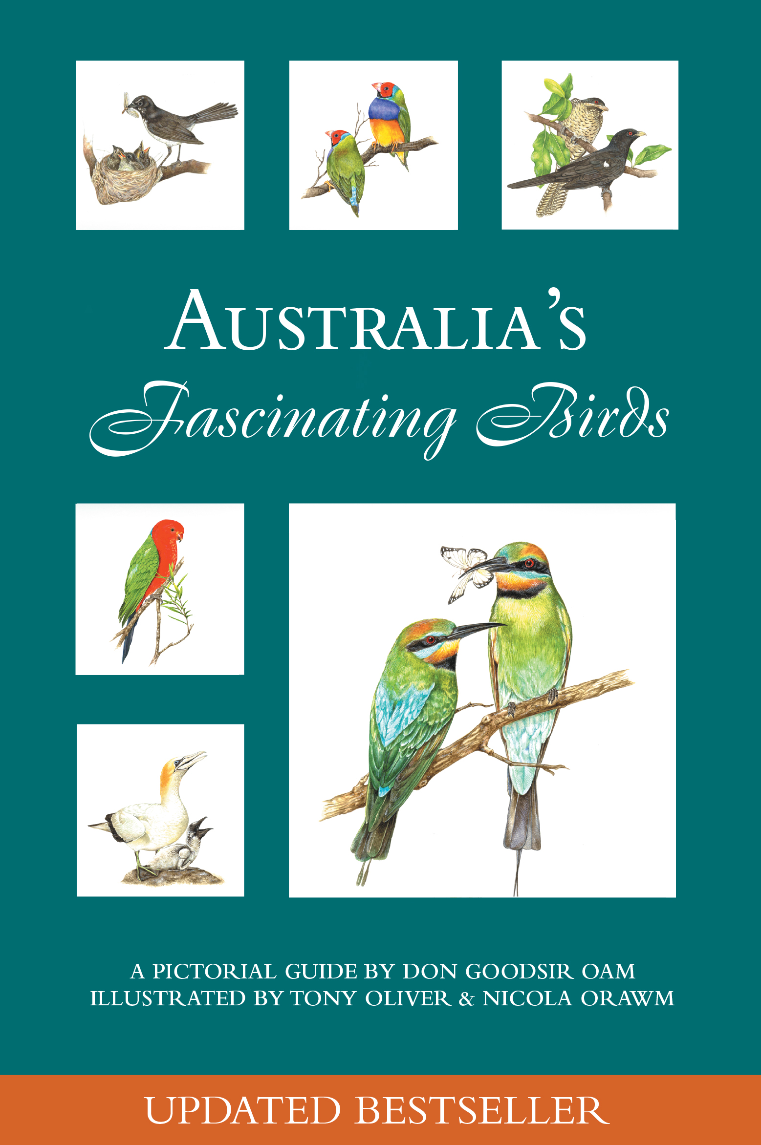 cover - australia's fascinating birds